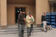 Chairman IRM visit to Azakhail