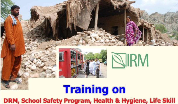 Training on DRR/M, School Safety Programme and Life Skills at Karachi