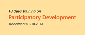 10 Days Training on Participatory Development