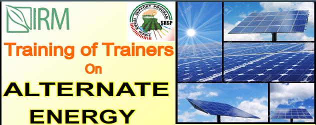 ToT on Alternate Energy