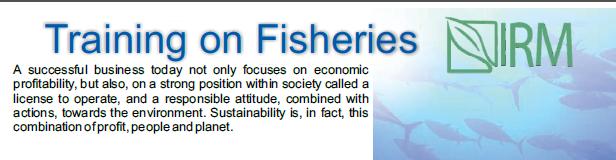 Training on Fisheries