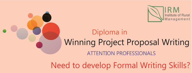 Diploma program in Project Proposal Writing Skills