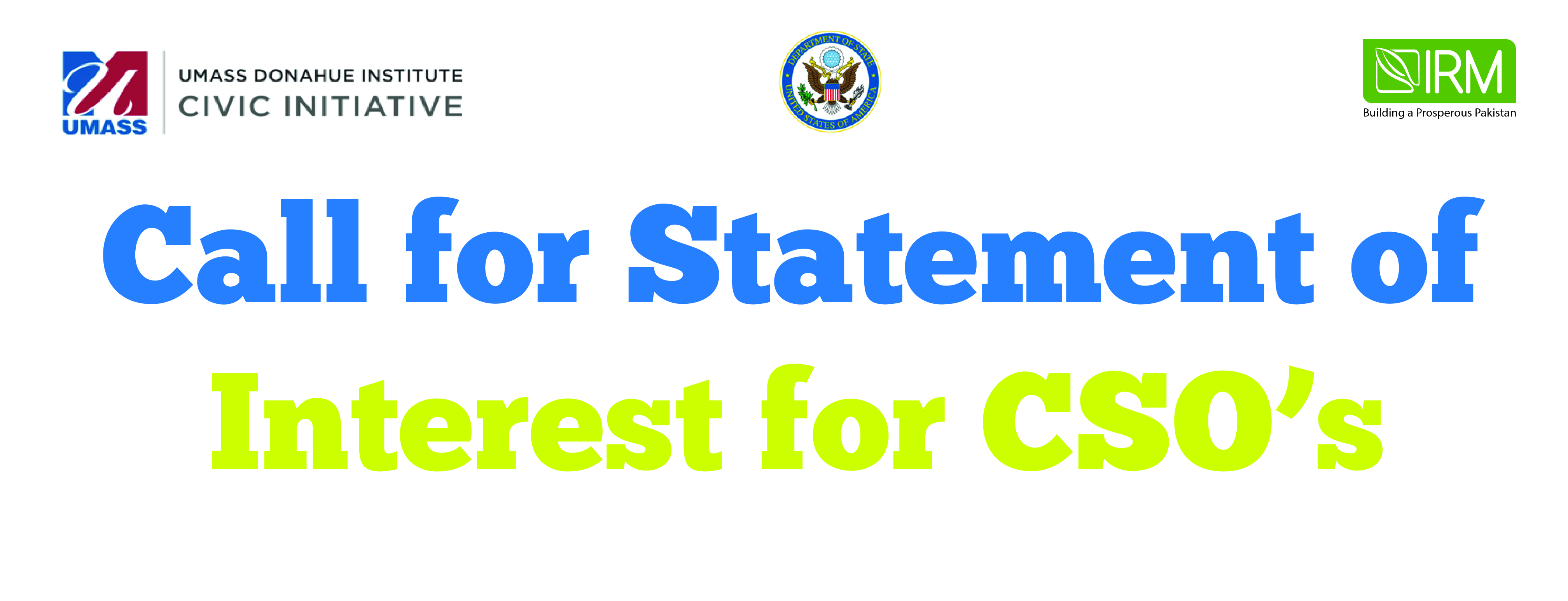 Statement of Interest for 'Strengthening CSO Project'