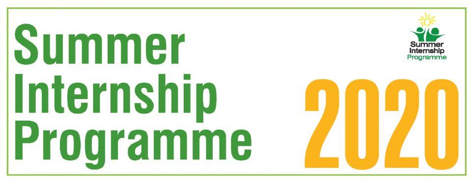 Summer Internship Programme 2020